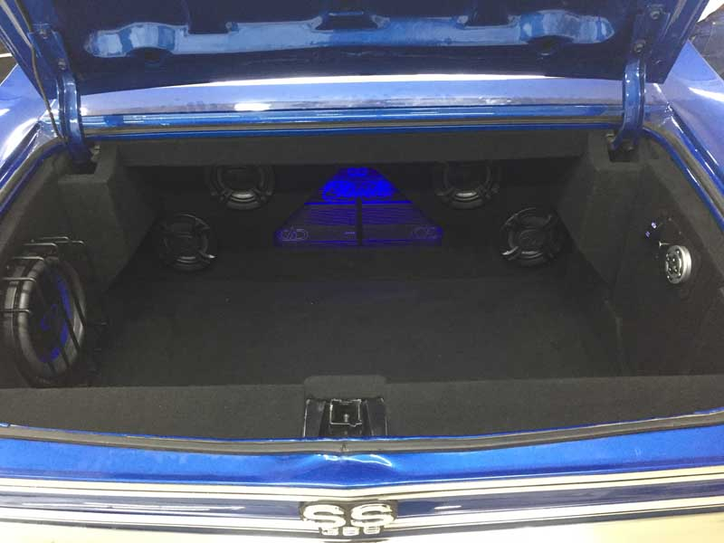 1968 Chevelle Custom Car Audio