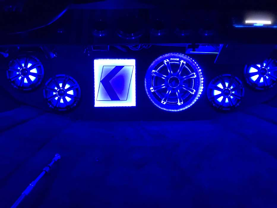 Custom Boat Audio Lighting Great Falls MT