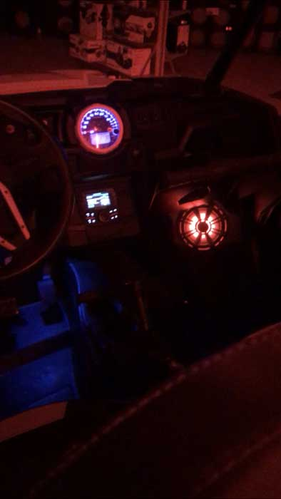 Polaris RZR Custom Audio Lighting Great Falls MT