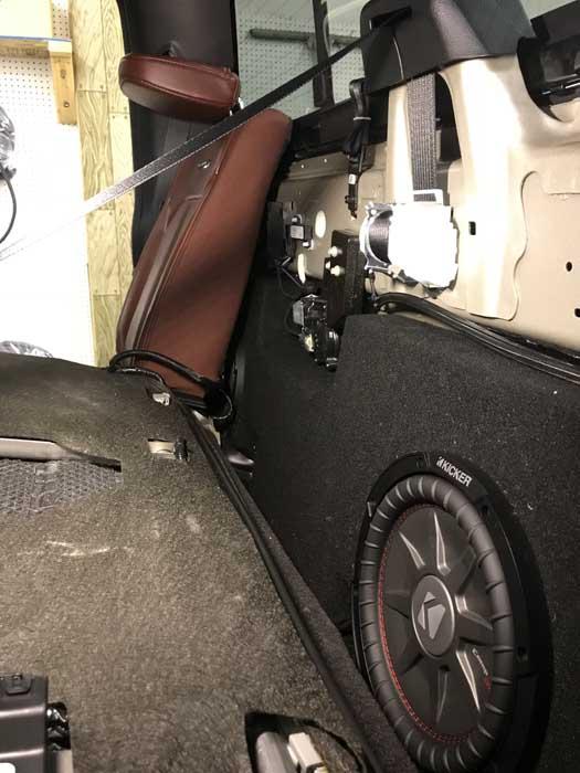 Custom Truck Audio 2018 F350
