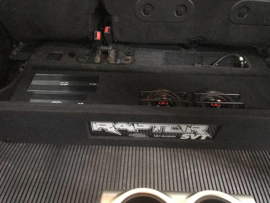 Custom Car Audio Great Falls MT Ford Raptor