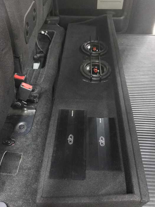 Custom Car Audio Great Falls MT Ford Raptor