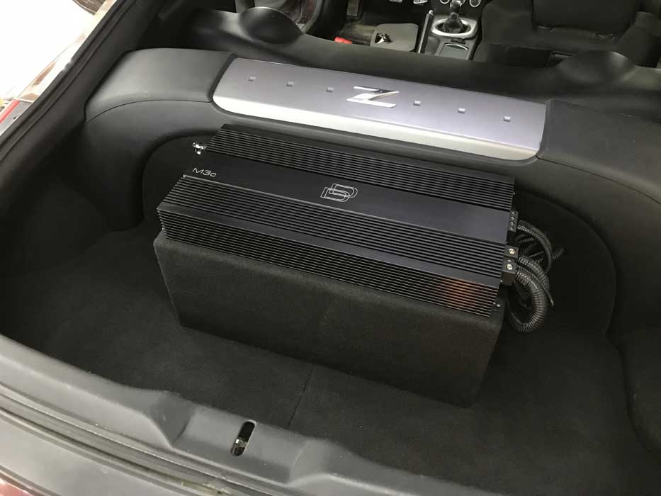 Custom Car Audio 2006 Nissan 350z - Reference Audio Video