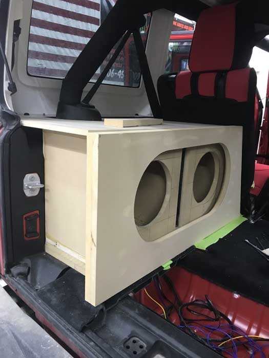Custom Jeep Audio Installation Great Falls MT